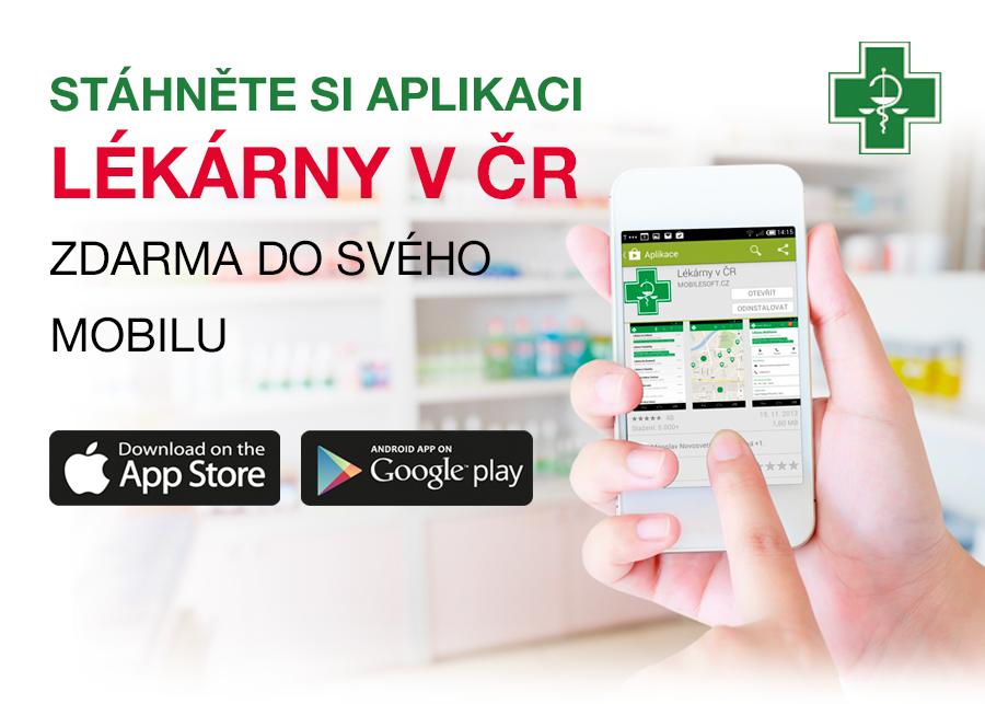 Mobilní aplikace Lékárny v ČR
