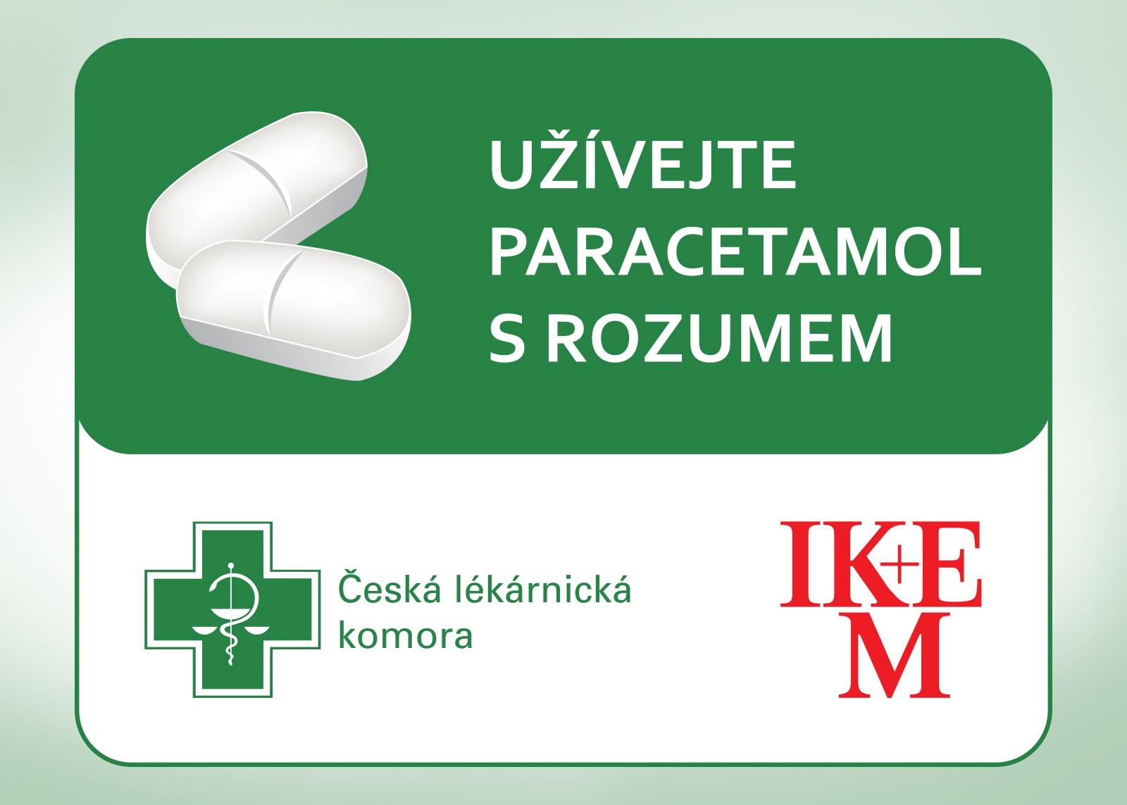 Užívejte paracetamol s rozumem
