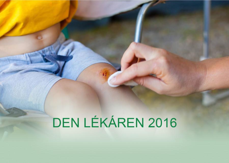 Den lékáren 2016 - Jak ošetřit drobná i větší poranění