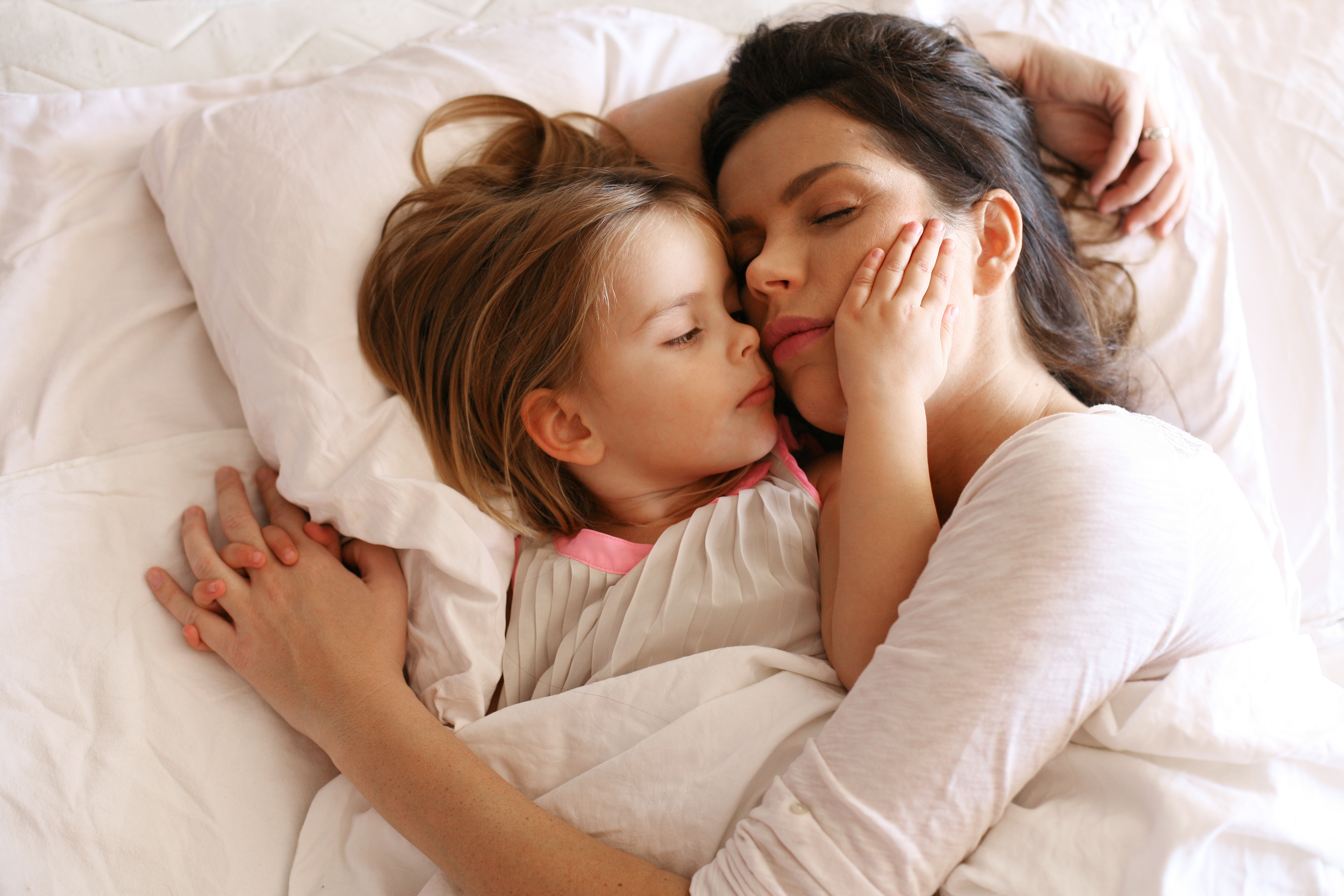 Spánek s rodiči
