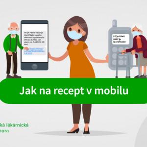 Jak na recept v mobilu?