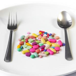 Nalačno neznamená těsně před jídlem