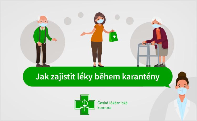 Jak zajistit léky během karantény