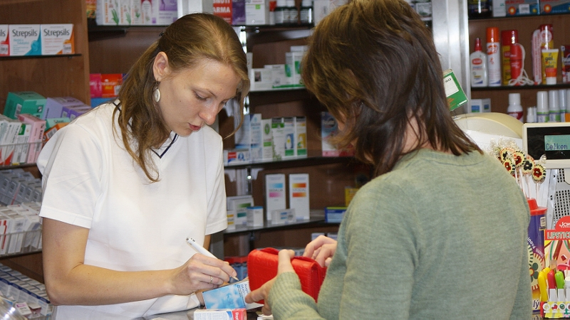 poradenství v lékárnách