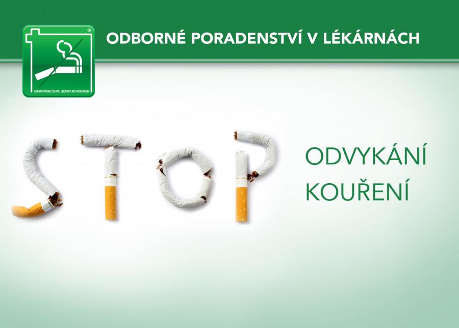 Odvykání kouření v lékárnách